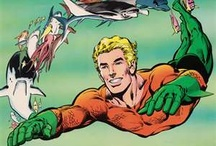Aquaman / He wears an orange shirt and takes care of the OTHER 70% of the earth's surface. What's not to like? Check out more classic comic book goodness at www.longboxgraveyard.com