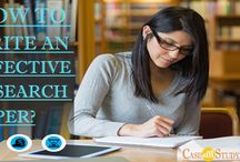How To Write An Effective Research Paper?