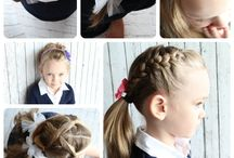 Easy kids hairstyles / by Andrea Evans Blomfeldt