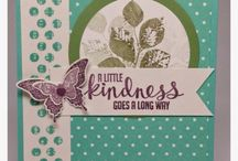 Stampin' Up! Kinda Eclectic / Ideas for using Kinda Eclectic or ideas that could be... / by Katy Freeman