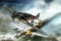 2e wereld oorlog. militaire vliegtuigen