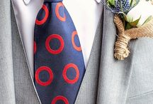 For the Groom- Boutonnieres / Boutonnieres