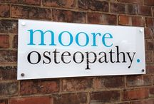 Moore Osteopathy / Specialist osteopathy clinic in West Bridgford, Nottingham.