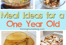 Food ideas for the little / by Nicole Eves