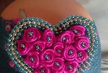 Tiaras e laços / flores para cabelos