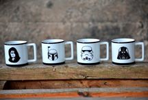 Mugs Star Wars / Tazas de La Guerra de las Galaxias.