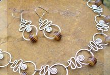 Šperky - drát
