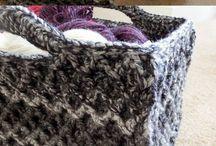 Crochet/baskets