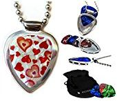 Guitar pick holder Necklaces by PICKBAY