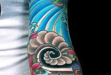 Arte de tatuaje japonés