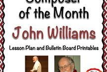 Music Education - Teaching Composers & Composer of the Month / Ideas and resources for teaching kids about Composers.  Units, lesson plans, composer of the month ideas, etc.  I love creating and sharing resources with other elementary music teachers.  You can find me on Teachers Pay Teachers at Pitch Publications.