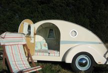 Teardrop campers / Would love to have a teardrop - such beauty