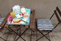 Breakfast on the terrace <3