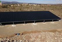 lablachère 07230 hangar photovoltaique