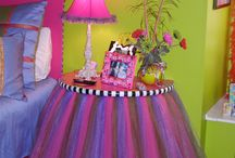 Girls' bedrooms / by Heather Hipkins-Westfall