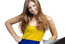 Maquillaje para alentar a la tricolor / En temporada de fútbol, nuestra pasión es que luzcas increíble. www.fedco.com.co