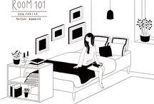 My illustration:ROOM