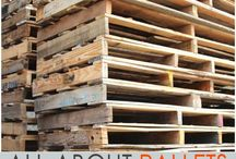 Wood Pallets / All the wood pallets designs and how to use them.