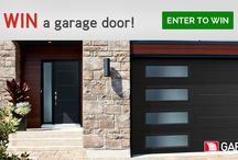 Garaga Contest: WIN YOUR DOORS / Get a chance to win a brand new garage system. For Canadian residents only. Ends on June 30, 2016. http://www.garaga.com/ca/designcentre/selection/ / by Garaga Inc.