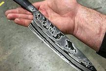 damacus şef knife