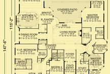 Home designs and plans / by Kim Kelley