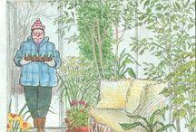 Giardini e giardinieri in copertina