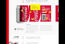 coke web design