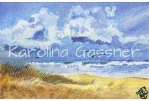 Watercolour Paintings / Watercolour paintings created by Karolina Gassner (karogfineart)