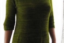 selfmade knits green