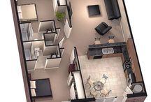 Планы этажей дома