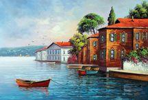 Nostalgic, historical, traditional houses. / Nostaljik,Tarihsel ve Geleneksel Evler
