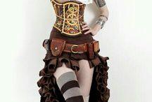 Look MedFan / photo de femme/homme en costumes