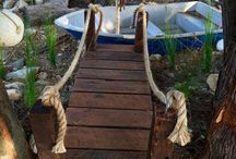 Pirate boat play equipment