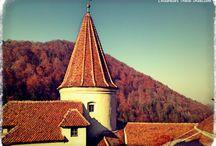 Castle Bran in Romania (Dracula)