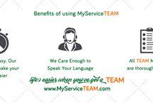 MyService TEAM Benefits