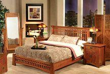 Mission Oak Furniture / http://www.lafuente.com/Rustic-Furniture/Mission-Oak-Furniture/