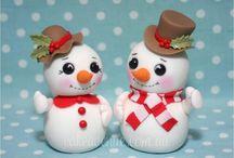 porcelana navideña
