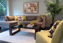 Living room decor / by Queca Salazar de García