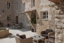 cour intérieur et terrasse