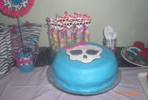 cumple monster high de Amelia