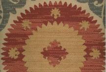 fabric for ottoman / by Becca Baughman