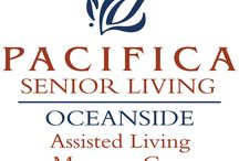 Pacifica Senior Living Oceanside / Privately owned, Pacifica strives to create a lifestyle of independence, security and peace of mind for each individual and their family. We do what we love and what we truly believe in – provide compassionate, personalized care services that ensure dignity and respect. Our dedicated, professional team supports each resident and goes above and beyond to help them feel at home.