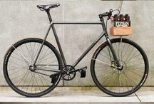 Wooden bike accessories