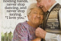 Grow old with me / Love has no wrinkles...
