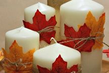 Autumn / Autumn decoration, food, diy, photos, ...