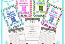 Islamic studies / Nice projects to try or adapt with the kids