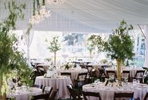 Tented Wedding Receptions / #wedding #tent