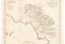 Antique maps of Lazio