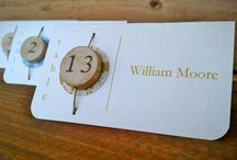 Escort/Seating/Place-Cards / by Lisa Narramore