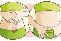 saúde e barriga chapada